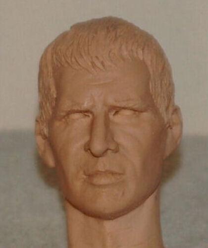 1//6 SCALE CUSTOM HARRISON FORD DECKARD ACTION FIGURE HEAD