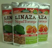 3 Linaza Tadin Nopal Y Toronja / Flax Seed Cactus & Grapefruit, With Omega