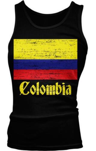 República de Republic of Colombian Flag Pride Orgullo Boy Beater Tank Top