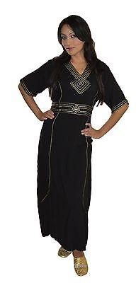 Caftan Kaftan Dress Abaya Blouse African Moroccan Clothing Middle East Muslim