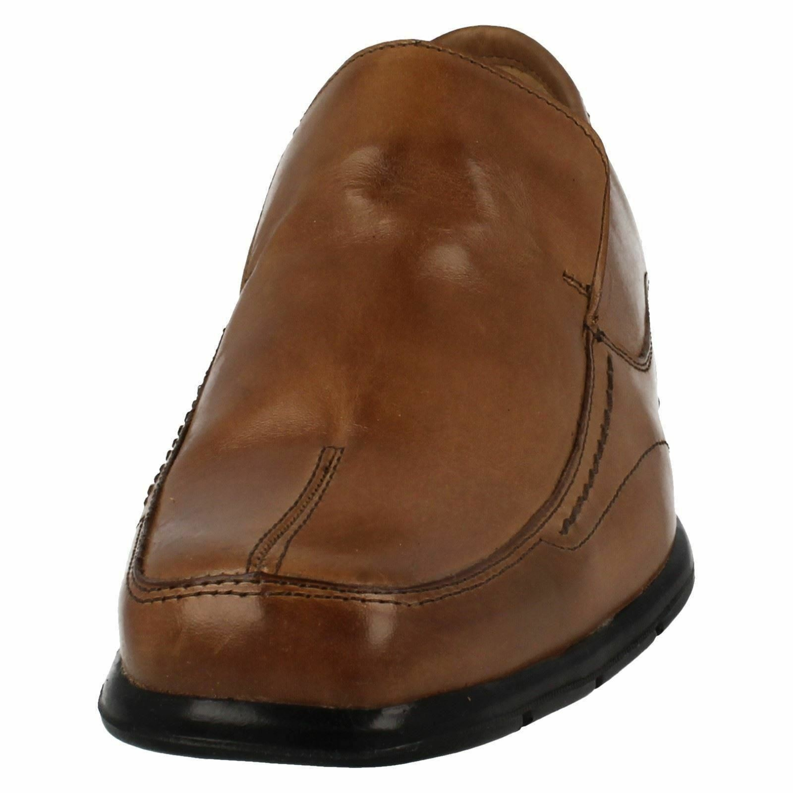 Mens Anatomic & Co Bronze Petropolis 323251 schwarz Or Bronze Co Leder Smart Slip On Schuhes da3fe7