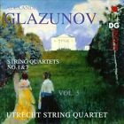 Glazunov: String Quartets, Vol. 5 (CD, Mar-2012, MDG)