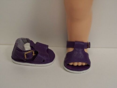 PURPLE Darling Sandals Doll Shoes For Knickerbocher's 16 Terri Lee (Debs)