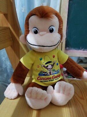 New Universal Studios Curious George Monkey Stuffed  Plush Toy Japan