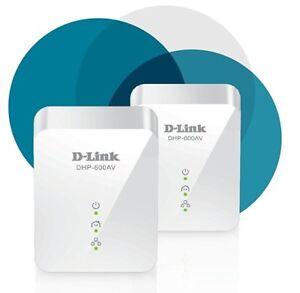 D-Link-DHP-601AV-PowerLine-HomePlug-Gigabit-Network-Starter-Kit-DHP-600AV-x-2