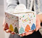 6pk XMAS Christmas Lolly Candy Cookie Boxes Loot Party Bag Cupcake Cake Truffle