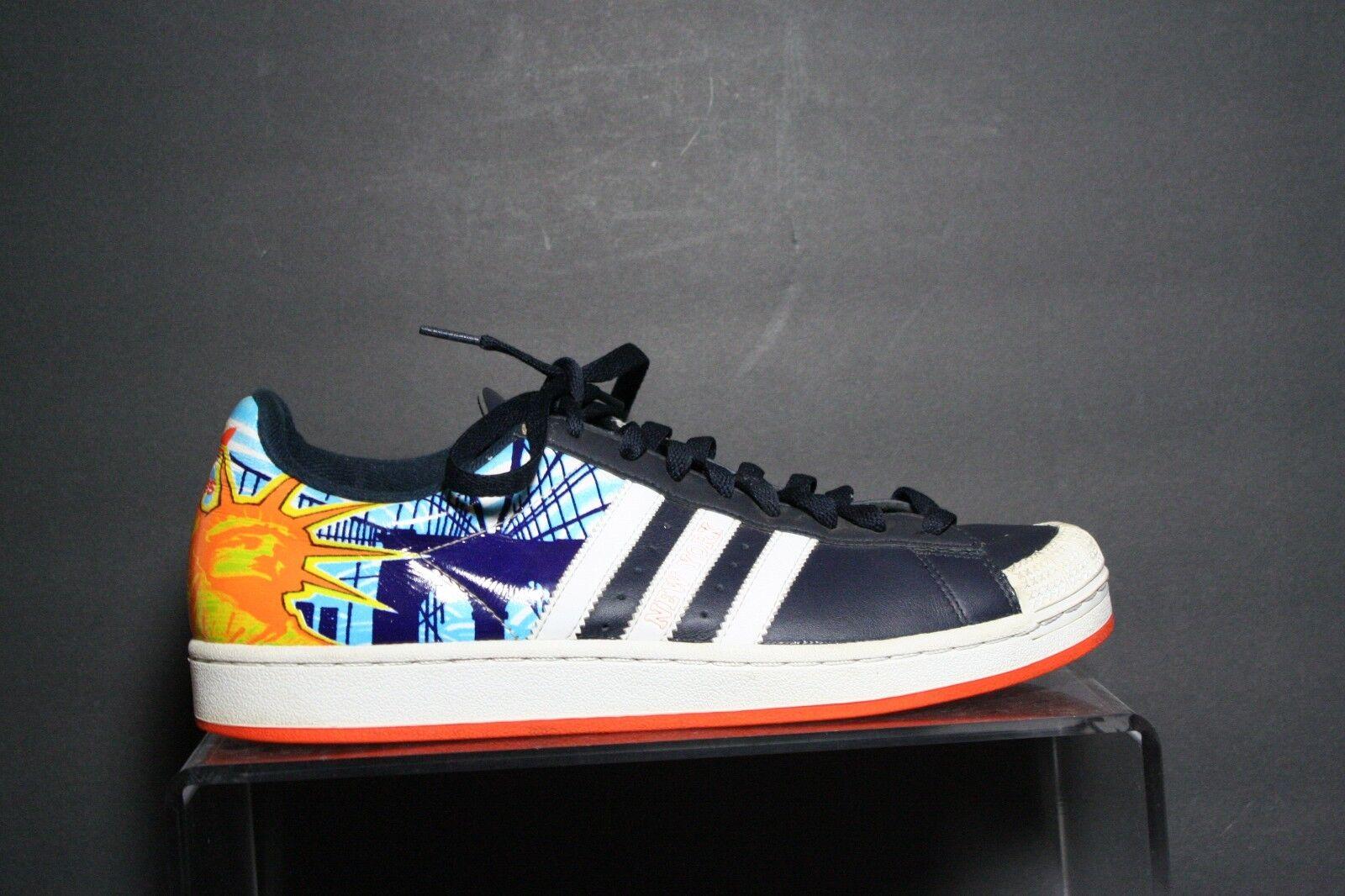 Adidas Half Shell New York NYC 06' Sneaker Ath Multi Sz 11 Liberty Brooklyn Hip