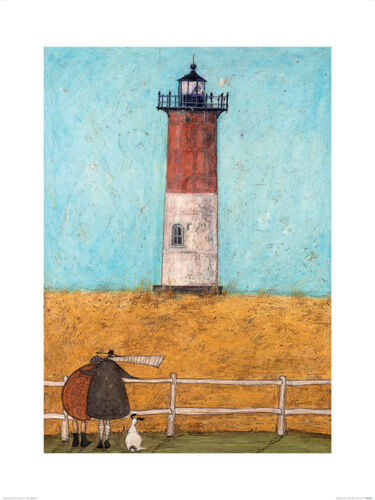 Art Print PPR40328    60cm x 80cm Sam Toft Feeling the Love at Nauset Light