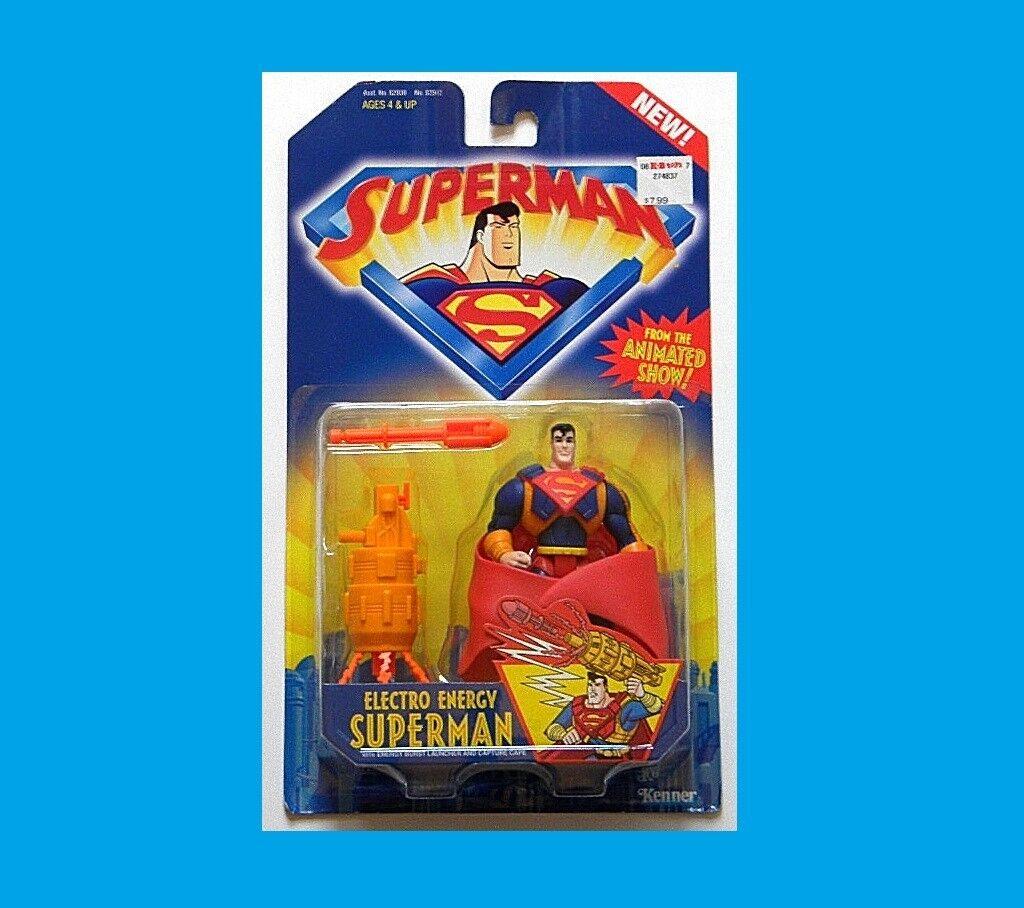 Superman - zeichentrickserie superman moc elektro - energie aus kenner