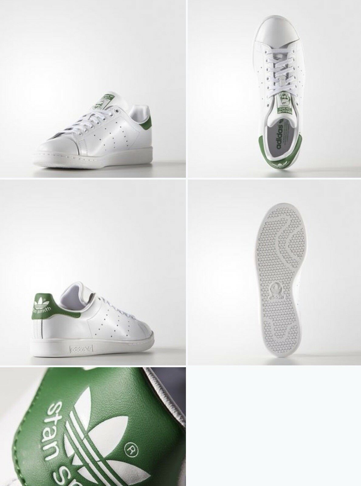 Adidas Men's Originals Stan Smith M20324 Sneakers- Choose Sizes