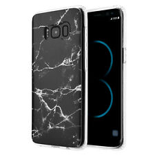 Hard PC Marble Granite Texture Glossy Case Cover for Samsung Galaxy S8 / S8 Plus