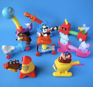 McDonald-039-s-1994-Animaniacs-Stretchers-Warner-Bros-Set-of-All-8-Happy-Meal-Toys