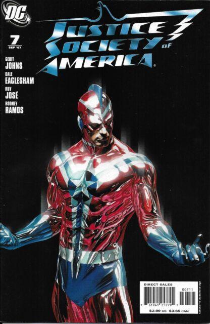 Justice Society Of America Comic 7 Geoff Johns Dale Eaglesham Jose Ramos DC