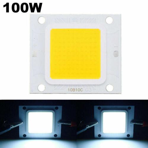 Led chip light smd cool warm white power flood cob 10w 20w 30w 50w 70w 100w leds