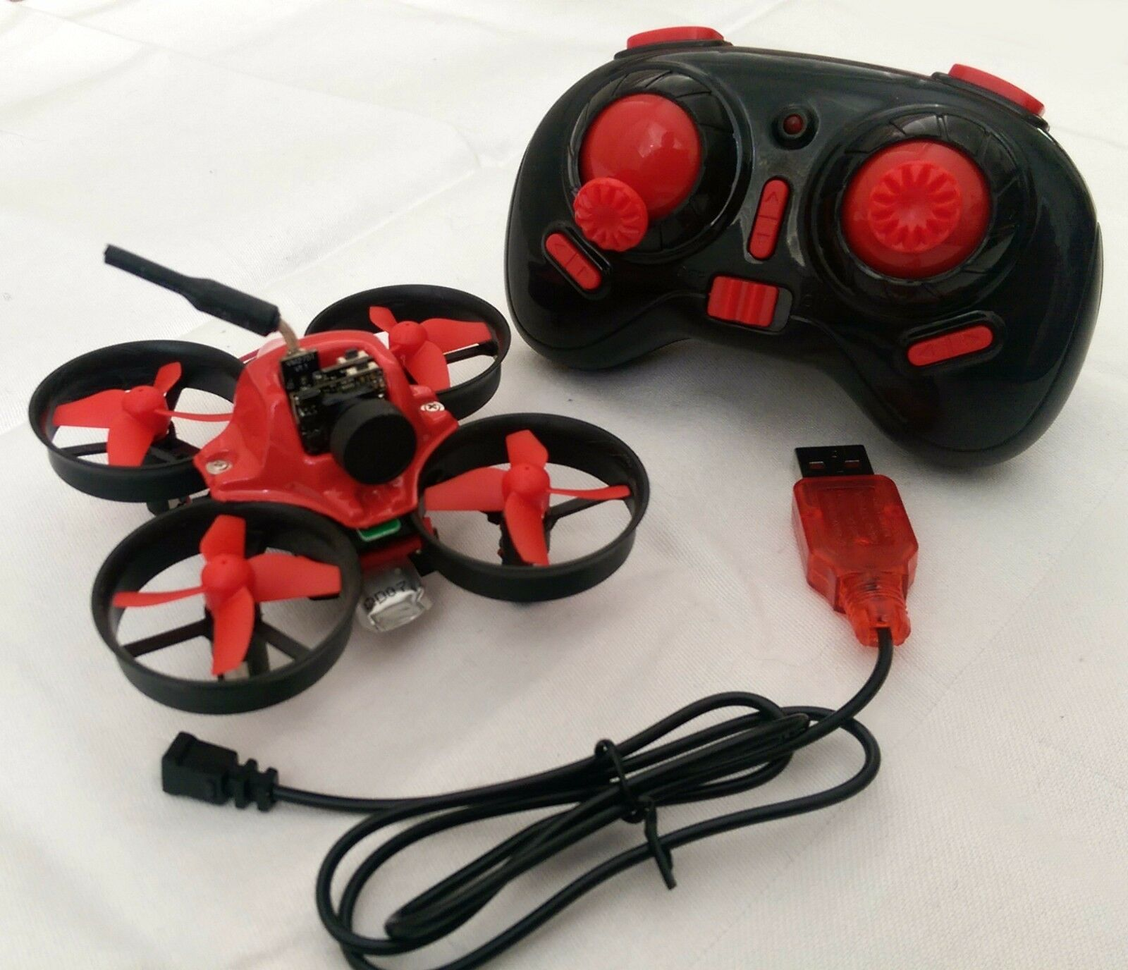 Markerfire RC FPV Indoor Micro Racing Drone Ready To Fly RTF Tiny Whoop UK