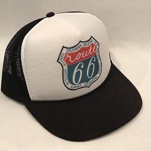 c1e98916b38ba USA États-unis Route 66 Camionneur Chapeau Maille Style Casquette ...