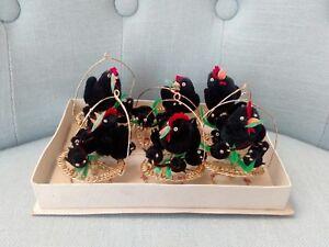 Decorazioni Natalizie Anni 50.Rare Vintage Decorazioni Natalizie Ciniglia Anni 50 60 Natale