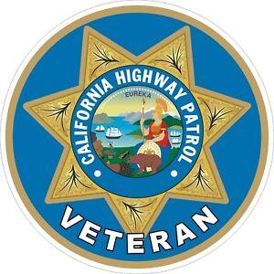 California-Highway-Patrol-CHIP-Veteran-Vet-Decals-Stickers