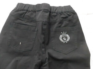 Trousers-Cloth-Pants-from-Dress-in-Size-40-50-52-S-Sizes-in-Black-361-New