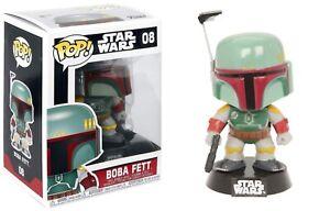 Funko-Pop-Star-Wars-Series-2-Boba-Fett-Vinyl-Bobble-Head-Item-2386