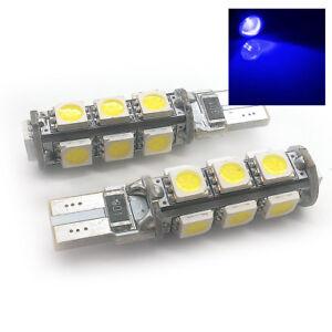 FITS-OPEL-VAUXHALL-2X-XENON-BLUE-13-SMD-LED-SIDE-LIGHT-W5W-T10-501-SJSL1018B