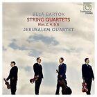 Streichquartete 2,4 & 6 von Jerusalem Quartet (2016)