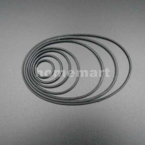 Silicone Rubber Round Power Transmission Belts 2MM 30MM 40MM 50MM 70MM 80MM 90MM