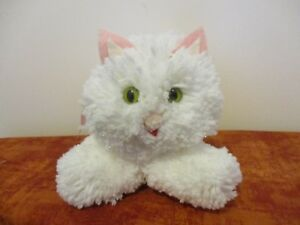 Easter Spring White Fluffy Kitty Cat Stuffed Animal Toy Ebay