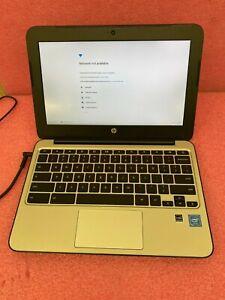 LOT OF 15 HP Chromebook 11 G4 Laptop Intel Core 2.16GHz 4GB RAM 16GB SSD