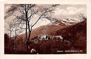 Cartolina-Postcard-Graglia-Grand-Hotel-1933