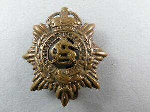 Military-Cap-Badge-Army-Service-Corps-1901-19-Pattern-British-Army