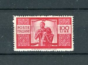 Italia-1945-Democratica-L-100-mnh-cat-450