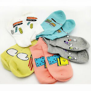 1Pair-Candy-Cotton-Comfortable-Socks-For-Women-Low-Ankle-Invisible-Thin-Sock-Lot