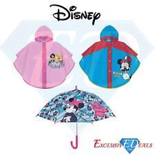 Disney Kids Mickey Mouse Body Clear Rain Poncho