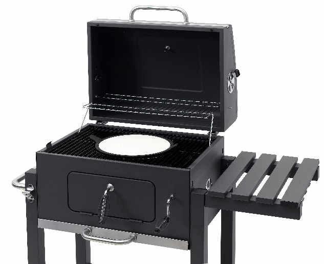Tepro Toronto Holzkohlegrill Click Preisvergleich : Tepro grillwagen toronto click b ware günstig kaufen ebay