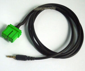 image is loading car-aux-audio-cable-male-for-honda-odyssey-