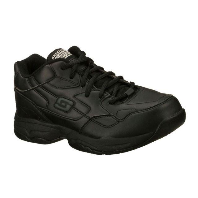 skechers memory foam womens work shoes