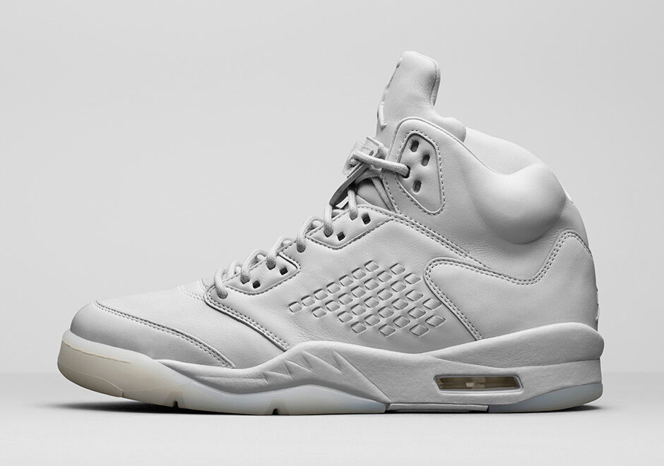 Nike Jordan 5 V Retro Premium Air tamaño 8.5 Pure Pure Pure Platinum Pinnacle LUX 881432-003 f0434a