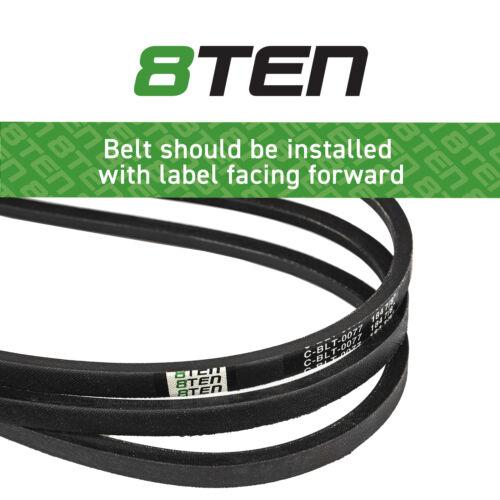 Deck Belt Toro 60 Inch Deck Titan ZX6000 ZX6020 ZX6030 ZX6050 115-4972 133-1168