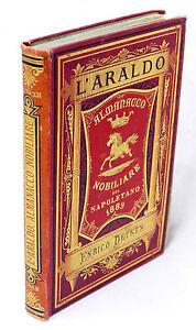 Araldica-L-039-Araldo-Almanacco-nobiliare-del-napoletano-Anno-XII-1889-RARO