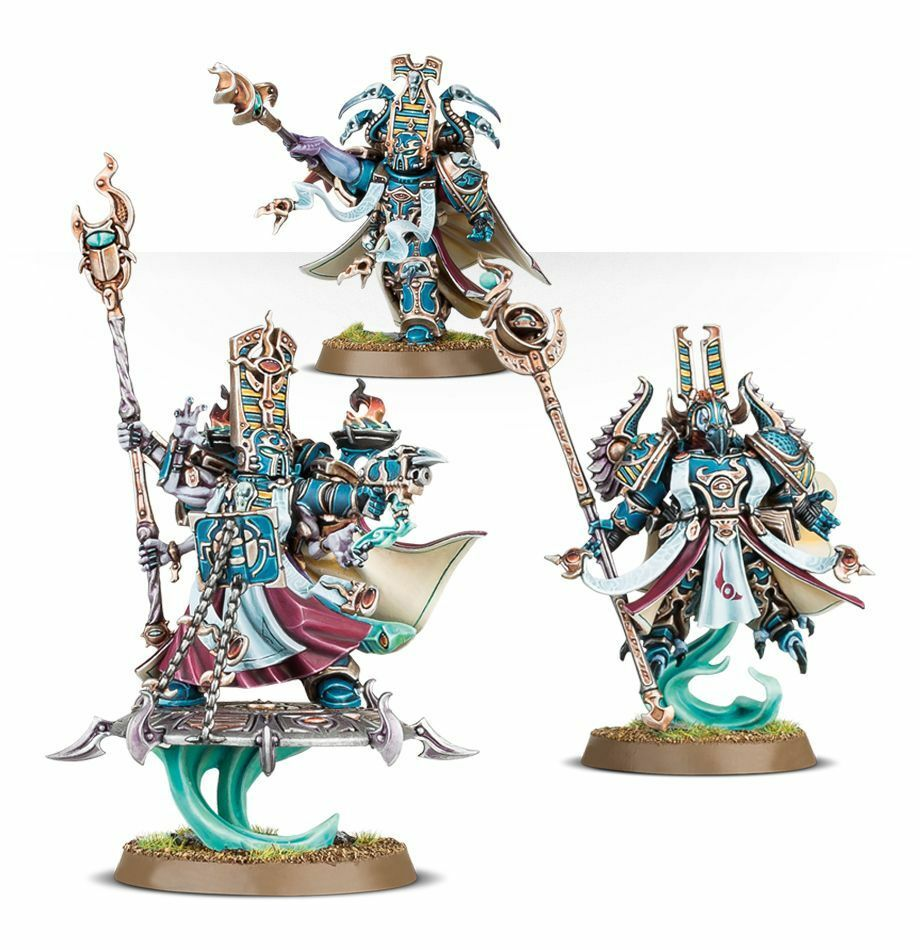 THOUSAND SONS EXALTED SCORCERERS - GAMES WORKSHOP