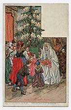 P. KAUFFMAN.Usages & Costumes d'Alsace.22. la veille de NOËL . CHRISTMAS