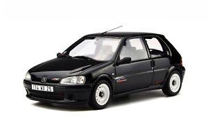 1-18-Otto-Models-Peugeot-106-rallye-1996-Noir-Onyx-OT706-cochesaescala