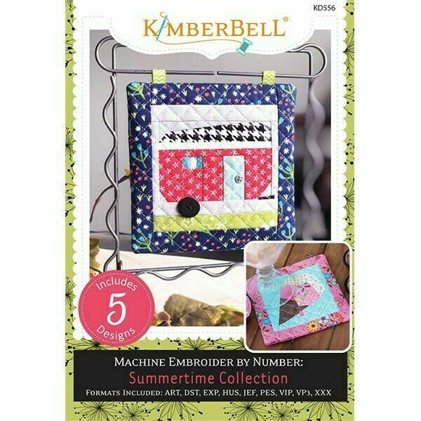 Kimberbell Designs Embroidery CD Summertime Collection Embroidery CD Embroidery by number