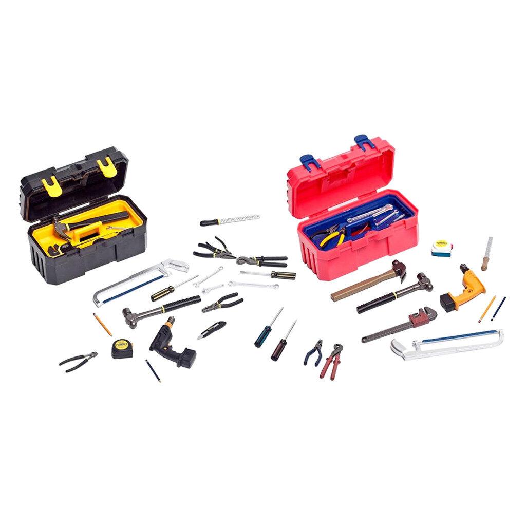 2X 22PCS Mechanic Repairing Tool Carry Box Kit for 12'' Male Figure Sideshow