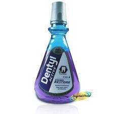 Dentyl Active Alcohol Free Mouthwash Icy Mint Enamel Restore Rinse 500ml