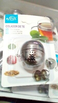 Colador filtro de malla te para infusión o hierbas inoxidable té infusion