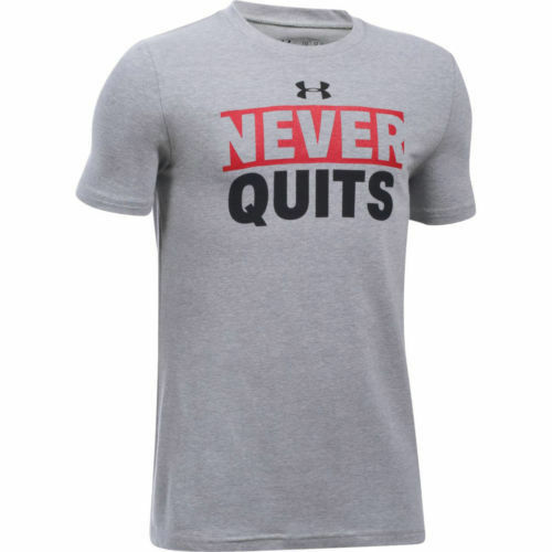 Under Armour 1299467 Kids Never Quit T-Shirt NWT