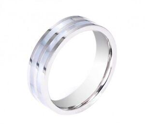 Tribal-Spirit-Steel-Ring-aus-Edelstahl-und-Perlmutt-schmuckrausch