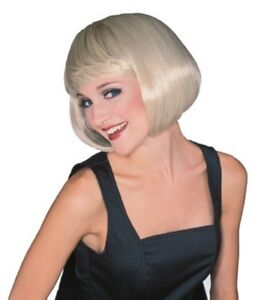 Details about Womens Short Blonde Wig Bob